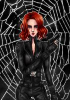 Black Widow by catablu