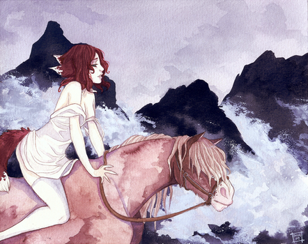 Distant Mountains by Anoki-Doll