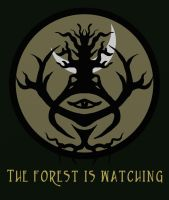 Eye Of The Forest by thehaloequation
