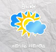Sticko Weather HD for xwidget by jimking