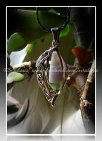 'Magical Lantern' (silver pendant for sale) by seralune