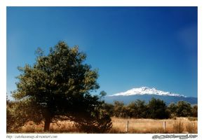 Day 208: Iztaccihuatl by CatoKusanagi