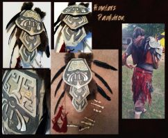 Hunters Pauldron- SOLD by Ekatii