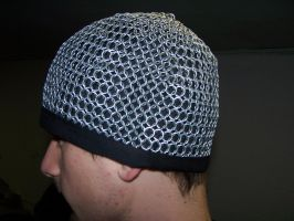 Chainmail Hat by Kyou-Kinezumi