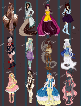 Monster Girl Adopts -OPEN- by Rd406