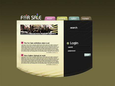 For Sale Website by FilthyGnome