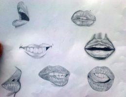 Mouth study by BabyGetLoose