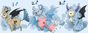PKMNation: Quartet/Alter Clutch [CLOSED] by garbagekeeper