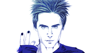Jared Leto by InvisibleRainArt