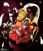 In space, No one can hear you 'mooooooo.' by Sir-Bombers