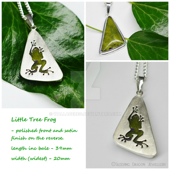 Frog Pendant Finished by WallaceReg