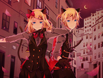 Vocaloid - Phantom Thieves Peter and Jenny by Zoltruke