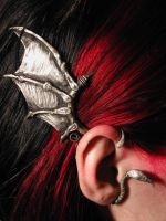 ear cuff -modeled by empiricaloverlord