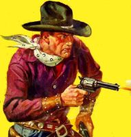 art from Popular Western Stories by peterpulp