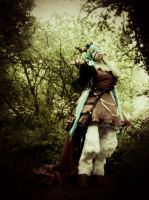 Hatsune Miku - Dark Woods Circus Cosplay. by Smexi-Sketchling
