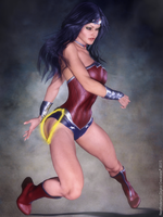 Wonder Woman reboot by neoanderson79
