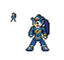 8-bit Megaman RA's Evil Side by lalalei2001