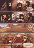 Keep Running D.D FANcomic 12 by Kaisel