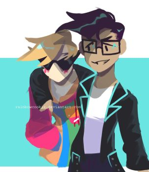 dirk and jake request by RainbowCookiz