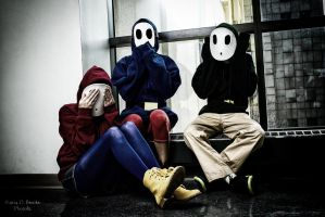 See no Evil, Speak no Evil, Hear no Evil by TrappedPetals