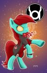 Red Lantern Pony by BearClawStudios