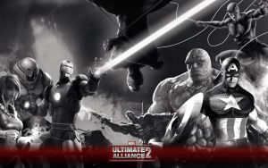 Marvel Ultimate Alliance 2 Wp by igotgame1075