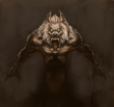 Werewolf Quick Paint by MadMosquito