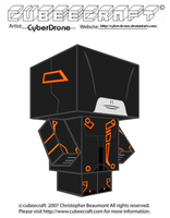 Cubeecraft - Clu's Sentry by CyberDrone