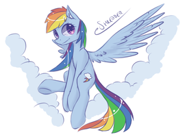 Rainbow Dash by eShredder