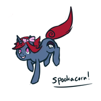 Spookacorn by Sepent
