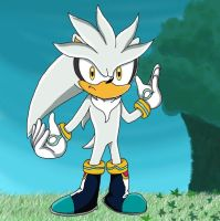 Silver The Hedgehog by anthey925