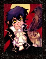Gilbert and the raven by KawaiiDarkAngel