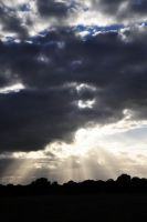 Sun through the Clouds by DrkHrs
