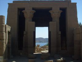 Temple of Isis by Morethantoday