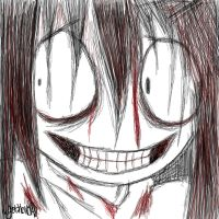 Jeff the Killer by xmamu