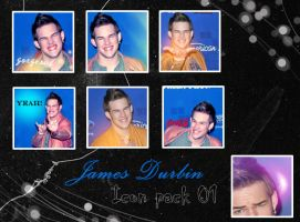 James Durbin Icon pack 01 by bluezircon-graphics
