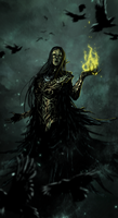 The Iron Maiden Witch by Banished-shadow