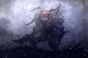 Ork Boss by Zen-Master