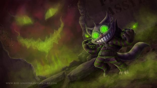 League of Legends: Mad Cheshire Ziggs (skin) by Red-Sinistra