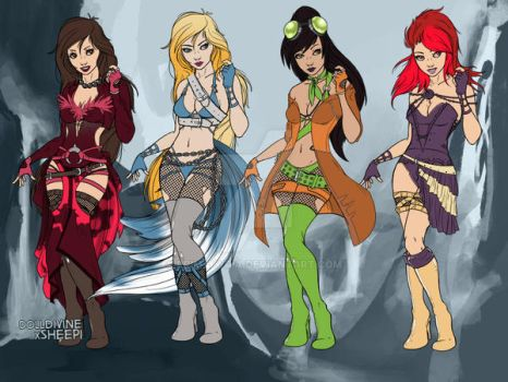 The Sera-Goddesses I by primakyria