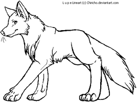 Lupe Wolf Makeable by TeaDino
