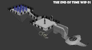 Chrono Trigger HD - The End of Time WIP 01 by FrZnChAoS