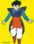 Gohan in kamis outfit by Kosukeham