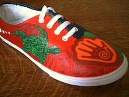 2nd ethnic design shoe by amythystelle