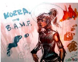 Korra is a BAMF by xxhopelessromantic