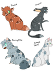 Free Warrior cats Adopts by ThePotato-Queen