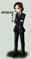 .:Commission - Spencer Reid:. by EriaHime