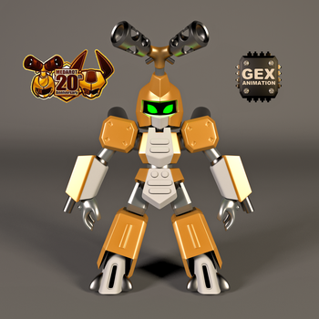 METABEE V-RAY 3D MODEL FOR THE 20th ANNIVERSARY by GexANIMATOR