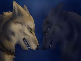 Hige And Blue by RiverSpirit456