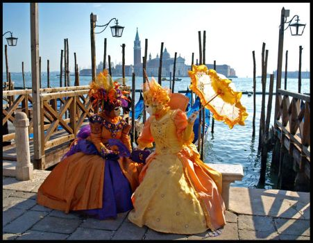 Venice - Carnival Gossiping by AgiVega